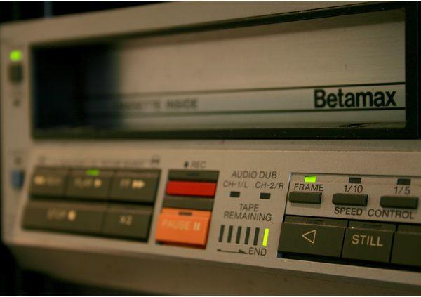 - betamax - Beeld consumenten nav philips video 2000 - betamax - Philips Video 2000