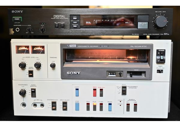 include audio - sony pcm u matic - include audio nagra sn micro - sony pcm u matic - Nagra SN micro