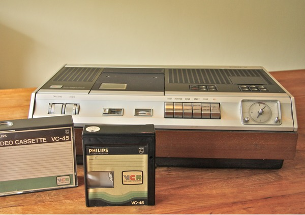 speciale - philips vcr n1500 systeem - include specials akai 1/2 inch video cassette system - philips vcr n1500 systeem - Akai 1/2 inch Video Cassette System