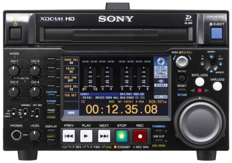 sony xdcam hd - VID00152 v - Sony XDCAM HD