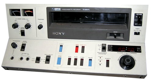 sony u-matic - sony u matic inn archive - Sony U-matic