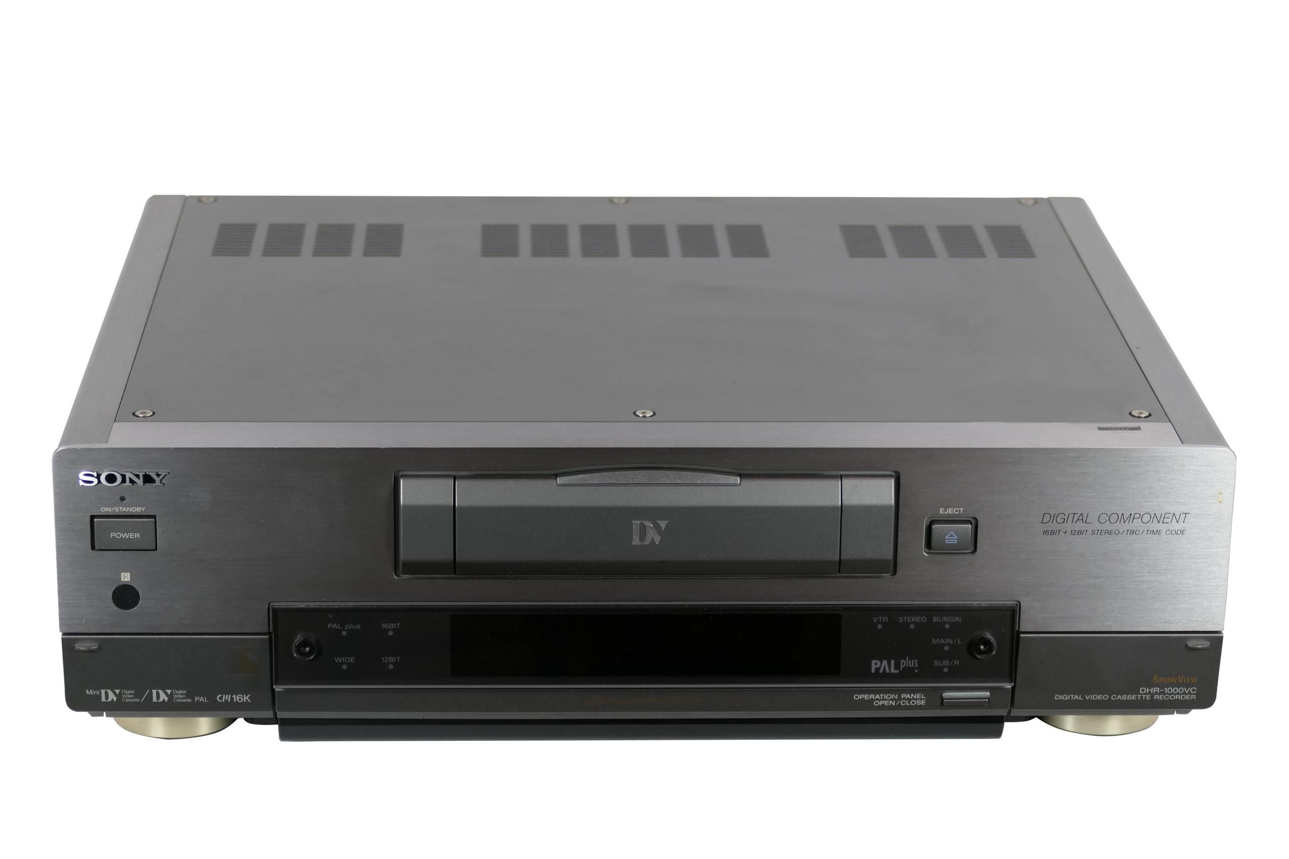 sony dv - sony mini dv - sony dhr 1000 mini dv inn archive - Sony DV – Sony mini DV