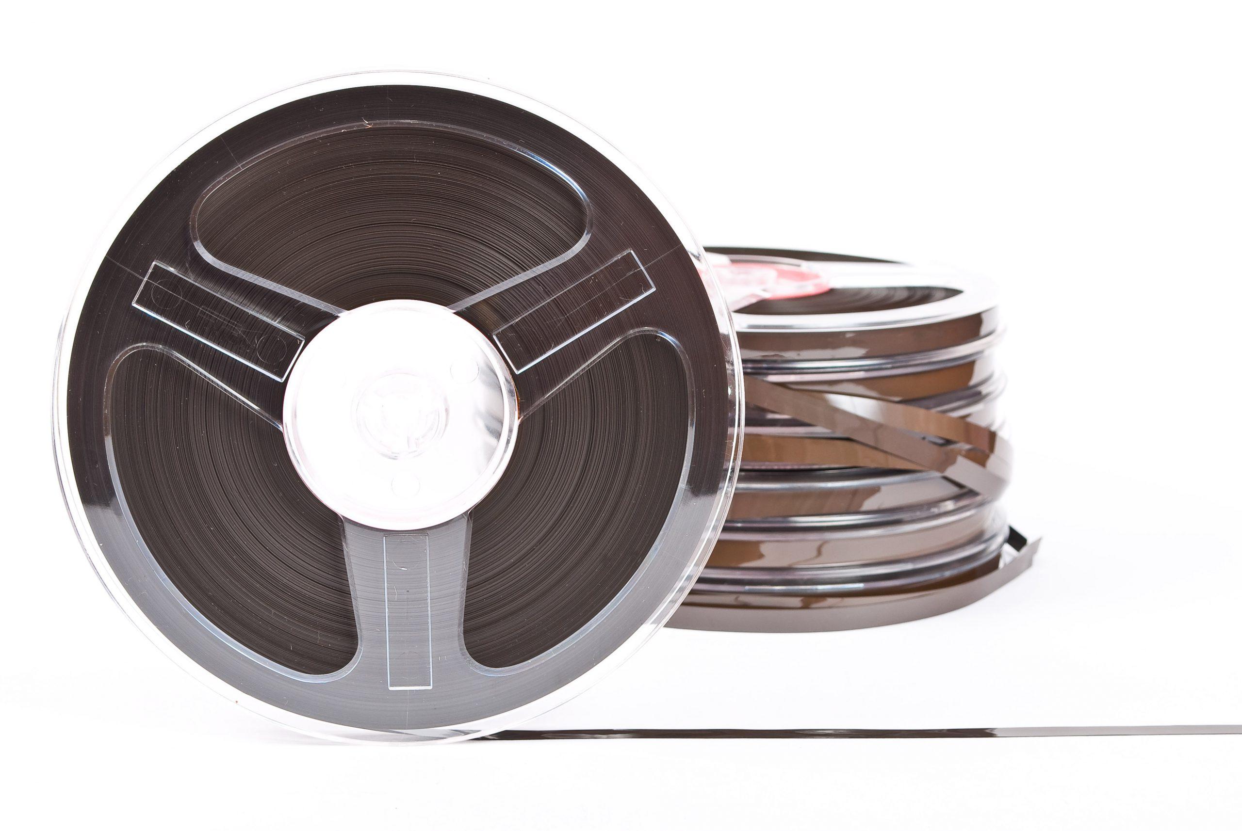 inn-archive - audio reel tape EY3CY8Y scaled - inn-Archive – digitaliseren van audio en video