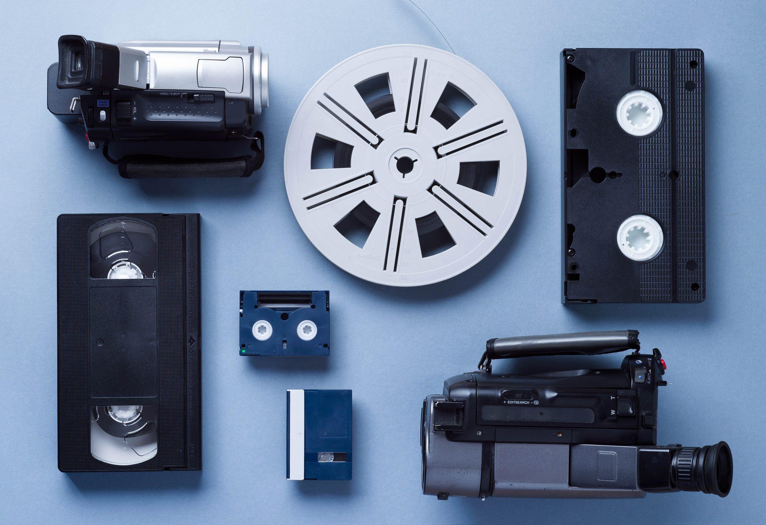 inn-archive - video cameras VMJZLN8 scaled - inn-Archive – digitaliseren van audio en video